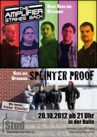 Plakat für The Amplifier Strikes Back & Splinterproof