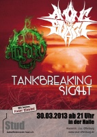 Plakat für Among The Swarm, Tankbreaking Sight & Ataraxy
