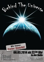 Plakat für Behind The Universe
