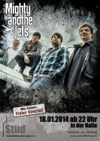 Plakat für Mighty And The Jets & Shakesbeer