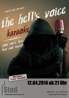 Plakat für The Hell´s Voice