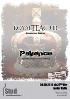 Plakat für Royal Tea Club & Psyence
