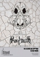 Plakat für Pain Of Truth & We Are BOAR