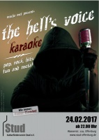 Plakat für Muchas Metalkaraoke: the hell's voice