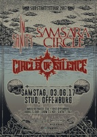 Plakat für In Sanity, Samsara Circle & Circle Of Silence
