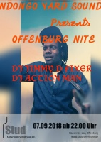 Plakat für Offenburg Nit3 - Reggae Party