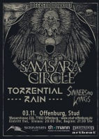Plakat für Samsara Circle, Torrential Rain & Sinners and Kings