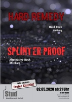 Plakat für Splinterproof & Hard Remedy