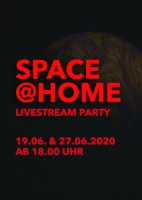 Plakat für Space@Home: Livestream Party Vol. 2