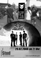 Plakat für Far Off The Zoo & Jacuzzi Pirates