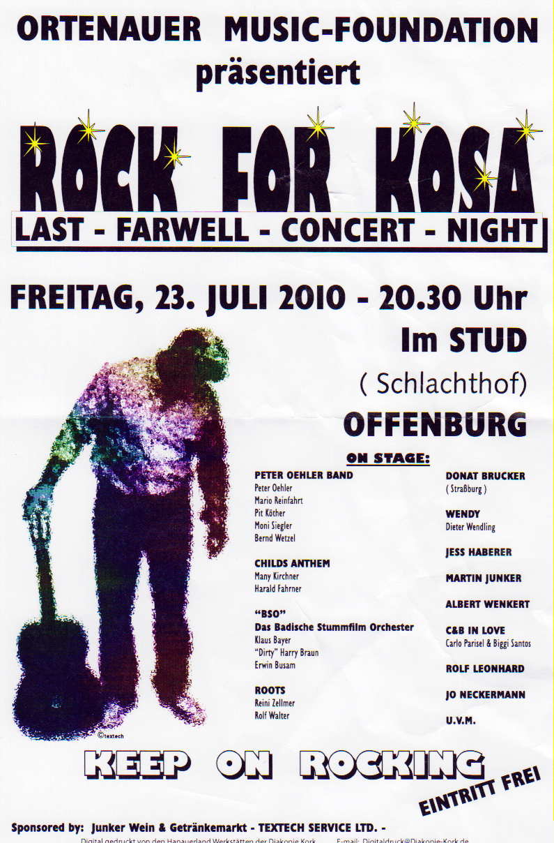 Scan des Artikels »Rock for KOSA«